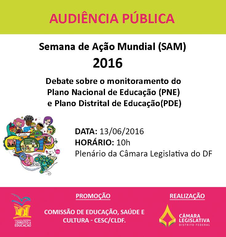 Audiência publica - SAM