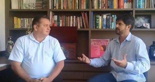 """Reginaldo Veras  fala sobre Educação e cidadania para """"Repórter Brasil Central"""""""
