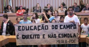 Educação no Campo quer atenção  e investimentos