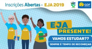 EJA: Coordenação Regional de Ensino de Ceilândia abre inscrições
