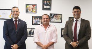 Veras recebe Secretário de Relações Institucionais da PMDF