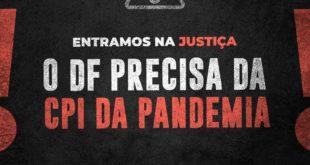 Oposição entra com mandado de segurança para que CPI da Pandemia seja instaurada na Câmara Legislativa